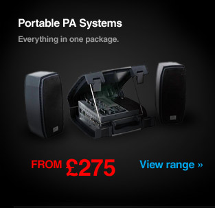 Peavey Portable PA Systems