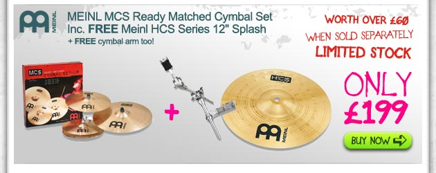 meinl cymbal bundle