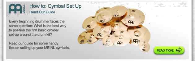 meinl cymbal setup