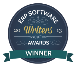 2013 Best ERP Vendor Blog - Winner