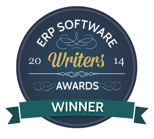 2014 Best Independent ERP Blog - Winner