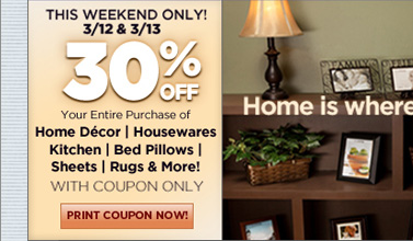 30% off Home Sale