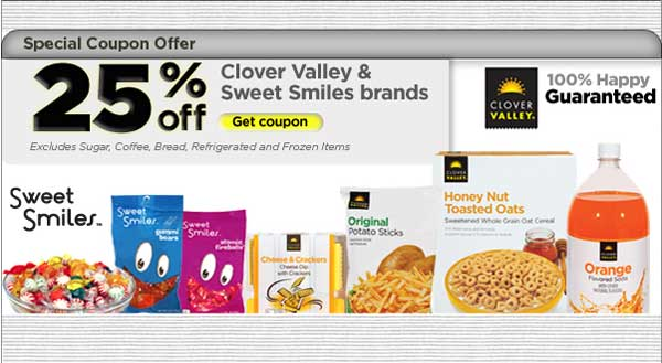 Clover Valley and Sweet Smiles Coupon